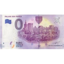 Euro banknote memory - 84 - Palais des Papes - 2019-6