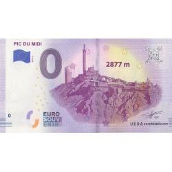 Euro banknote memory - 65 - Pic du Midi - 2019-2