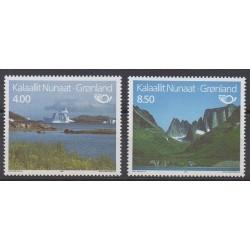 Greenland - 1995 - Nb 248/249 - Tourism