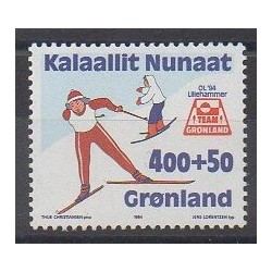 Groenland - 1994 - No 232 - Jeux olympiques d'hiver