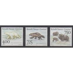 Groenland - 1995 - No 253/255 - Mammifères