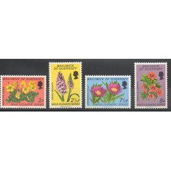 Guernsey - 1972- Nb 62/65 - Flowers