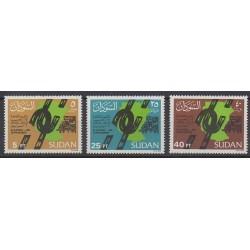Sudan - 1986 - Nb 344/346