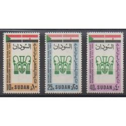 Sudan - 1985 - Nb 338/340