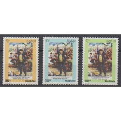 Soudan - 1989 - No 368/370 - Histoire