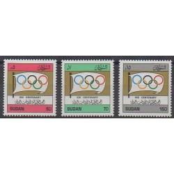 Soudan - 1994 - No 433/435 - Jeux Olympiques d'été - Jeux olympiques d'hiver