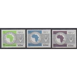 Sudan - 1989 - Nb 371/373