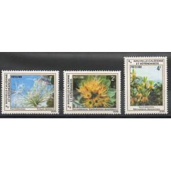 Nouvelle-Calédonie - 1983- No 469/470 - Fleurs
