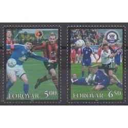 Faroe (Islands) - 2004 - Nb 495/496 - Football