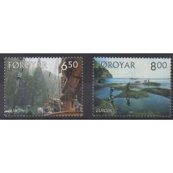 Faroe (Islands) - 2004 - Nb 493/494 - Tourism - Europa