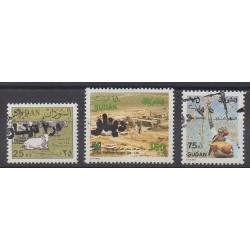 Sudan - 1996 - Nb 454/456
