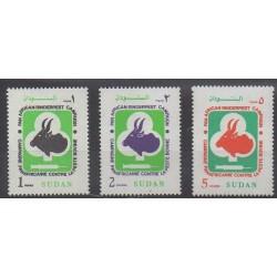 Sudan - 1991 - Nb 414/416