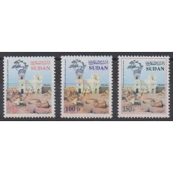 Sudan - 2000 - Nb 493/495 - Postal Service