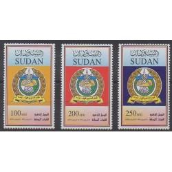 Sudan - 2004 - Nb 541/543 - Military history