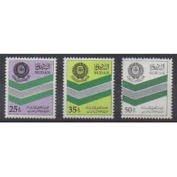 Sudan - 1997 - Nb 464/466