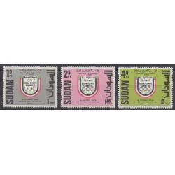 Soudan - 1984 - No 335/337 - Jeux Olympiques d'été