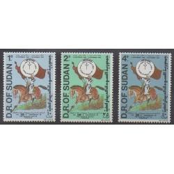 Sudan - 1984 - Nb 332/334 - Various Historics Themes
