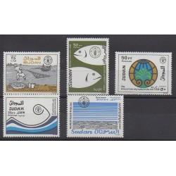 Soudan - 1988 - No 347/351