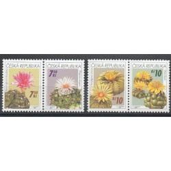 Tchèque (République) - 2006- No 439/442 - Fleurs