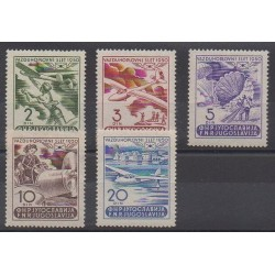 Yougoslavie - 1950 - No PA27/PA31 - Aviation - Neufs avec charnière