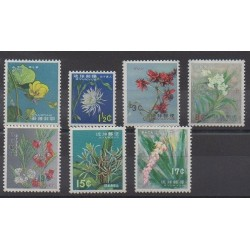Ryu-Kyu - 1962 - Nb 93/99 - Flowers