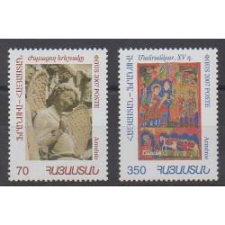 Armenia - 2007 - Nb 542/543 - Art