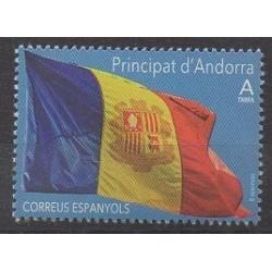Andorre espagnol - 2019 - No 465 - Drapeaux