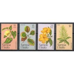 Samoa - 1981- No 502/505 - Fleurs
