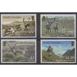 Falkland - 2014 - Nb 606/609 - Animals