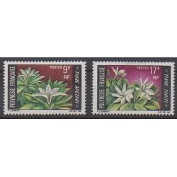 Polynesia - 1969 - Nb 64/65 - Flowers