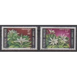 Polynésie - 1969 - No 64/65 - Fleurs