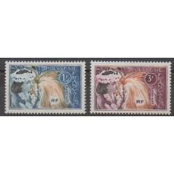 Polynésie - 1964 - No 27/28