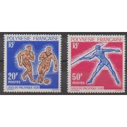Polynesia - 1963 - Nb 22/23 - Various sports