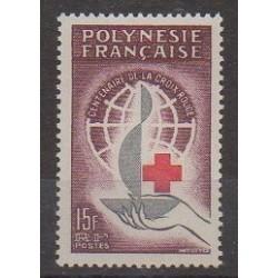 Polynésie - 1963 - No 24 - Santé ou Croix-Rouge