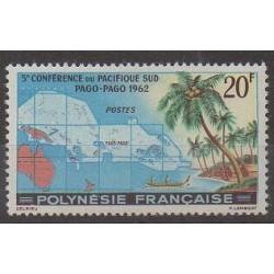 Polynésie - 1962 - No 17 - Histoire