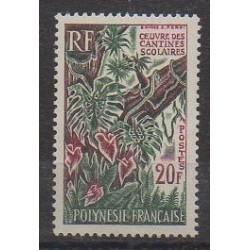 Polynesia - 1965 - Nb 35 - Trees