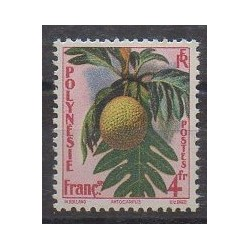 Polynesia - 1958 - Nb 13 - Fruits or vegetables - Mint hinged