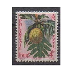 Polynésie - 1958 - No 13 - Fruits ou légumes - Neuf avec charnière
