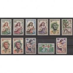 Polynesia - 1958 - Nb 1/11
