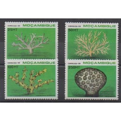 Mozambique - 1989 - Nb 1123/1126 - Sea animals