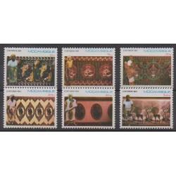 Mozambique - 1990 - Nb 1153/1158