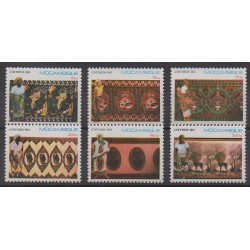 Mozambique - 1990 - No 1153/1158