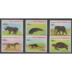 Mozambique - 1990 - Nb 1168/1173 - Endangered species - WWF