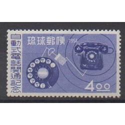 Ryu-Kyu - 1956 - Nb 40 - Telecommunications