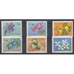 Pologne - 1984- No 2718/2723 - Fleurs
