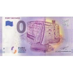 Euro banknote memory - 17 - Fort Boyard - 2019-3