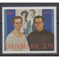 Denmark - 1992 - Nb 1034 - Royalty