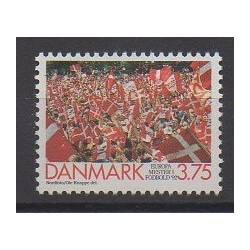 Danemark - 1992 - No 1038 - Football