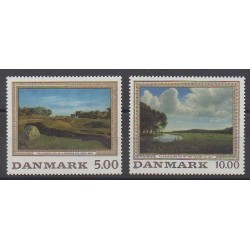 Denmark - 1992 - Nb 1046/1047 - Paintings