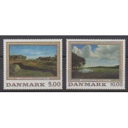 Danemark - 1992 - No 1046/1047 - Peinture